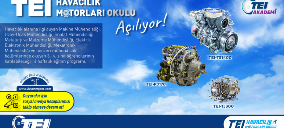 TEI Havacılık Motorları Okulu