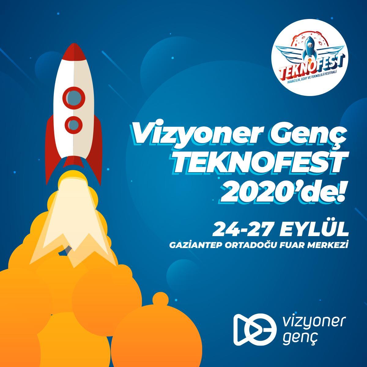 Vizyoner Genç TEKNOFEST 2020'de!