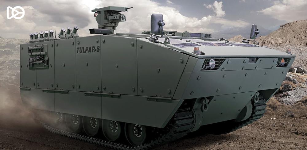 Amfibi Zırhlı Paletli Araç: TULPAR – S