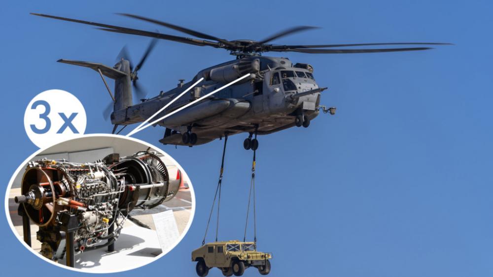 3 Motorlu Helikopterler