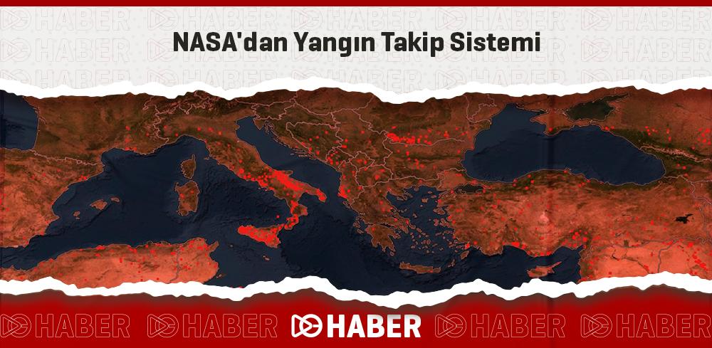 NASA'dan Yangın Takip Sistemi