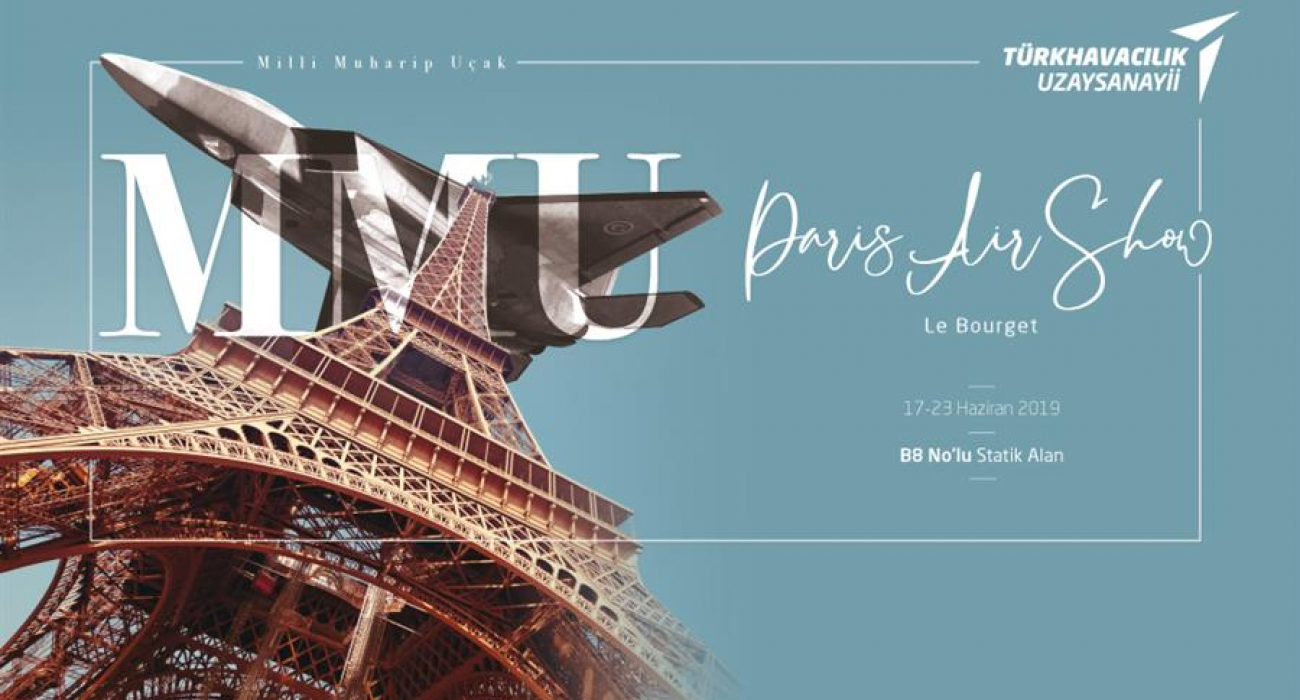 Milli Muharip Uçak, Paris'te Görücüye Çıktı