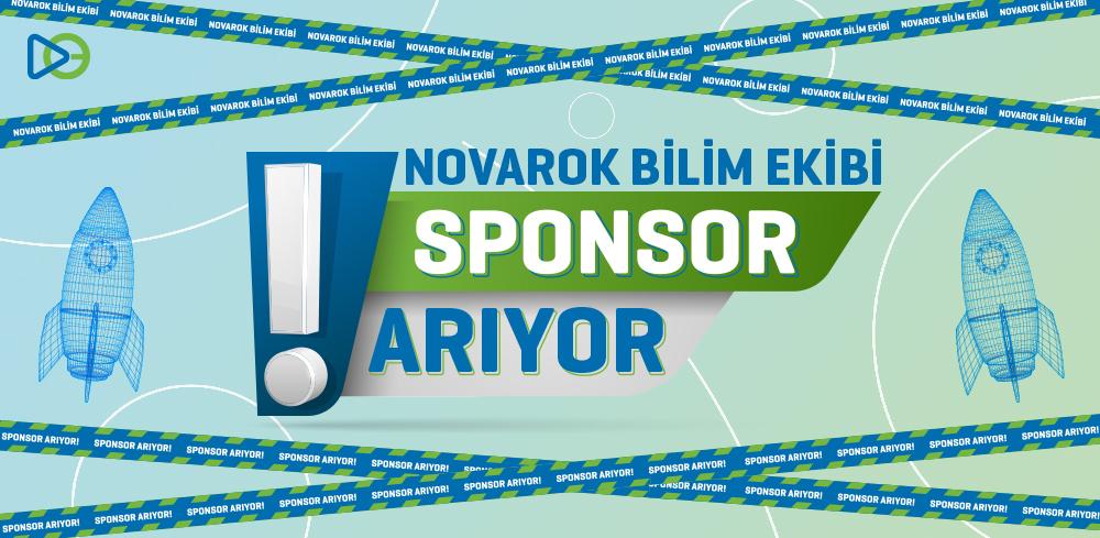 Novarok Bilim Ekibi Sponsor Arıyor!