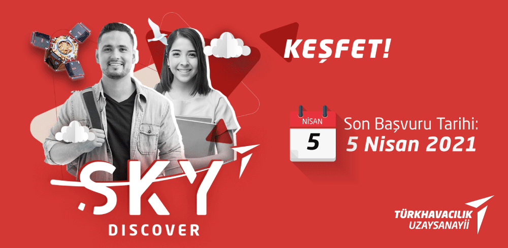 """""""SKY Discover"""" Yaz Stajı Programı (Lisans)"""
