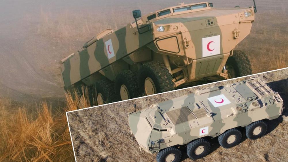 Savaş Alanının Çelik Meleği: PARS III 8×8 Taktik Tekerlekli Zırhlı Ambulans Aracı