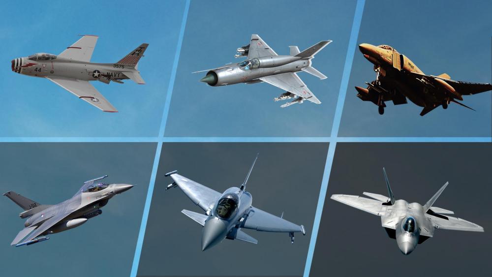 Nesillerine Göre Jet Savaş Uçaklarının Sınıflandırılması