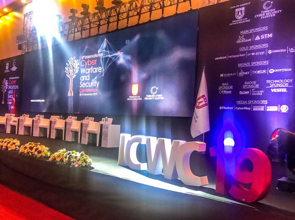 4. Uluslararası Siber Savaş ve Güvenlik Konferansı: ICWS 2019