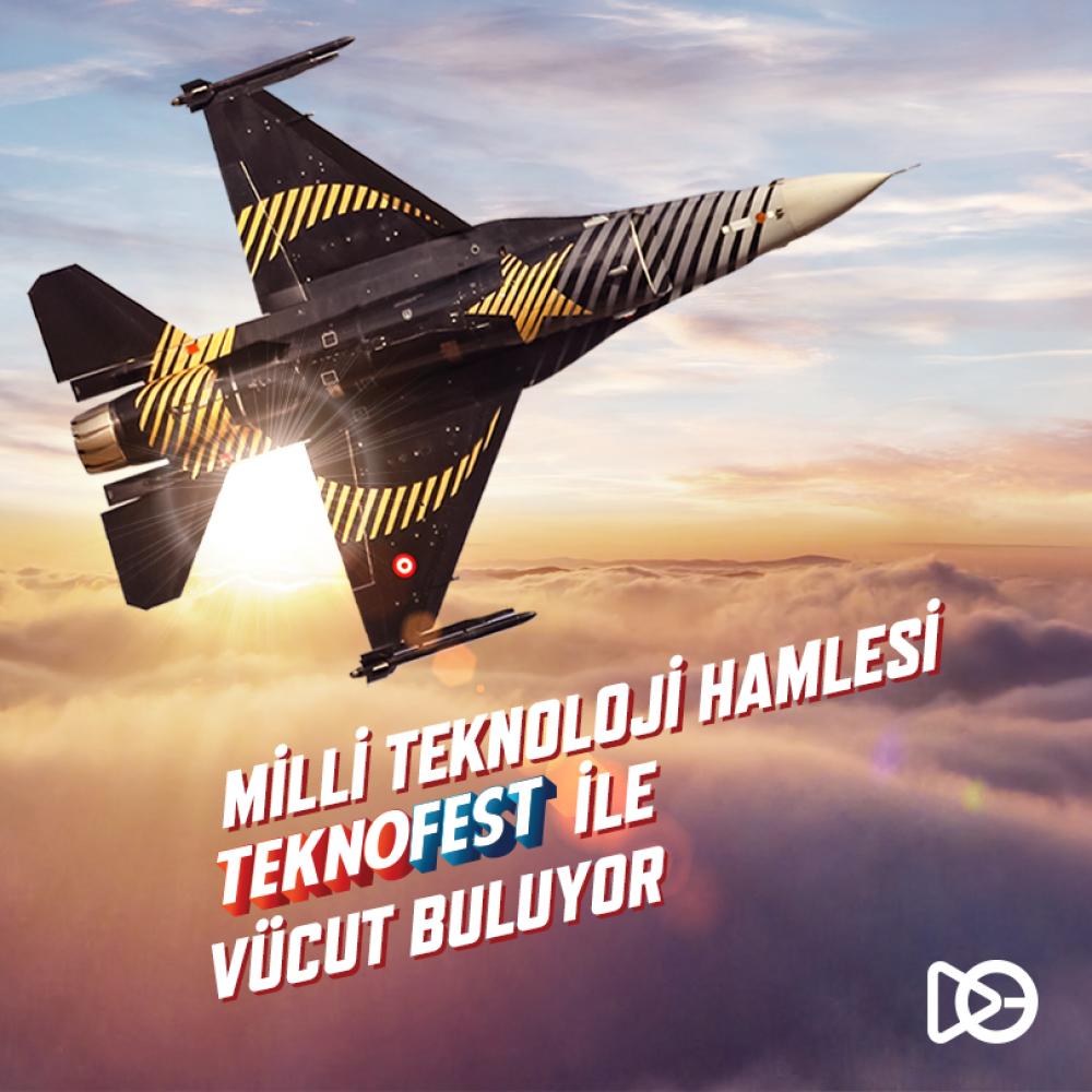 Milli Teknoloji Hamlesi Teknofest İstanbul ile Vücut Buluyor
