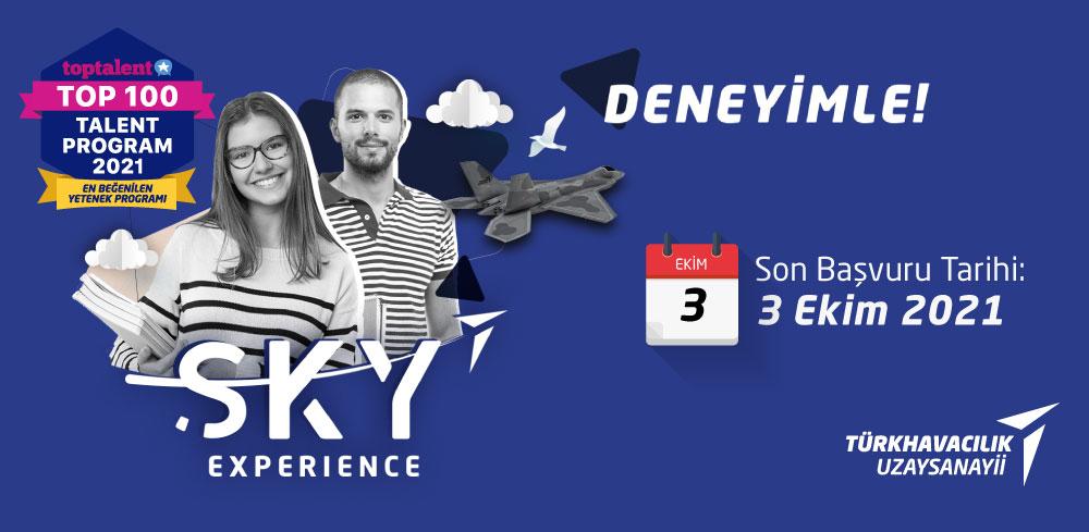SKY Experience Stajyer Mühendis Programı 2021 - 2022